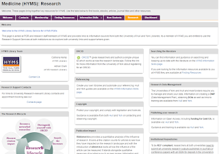 HYMS Research Page