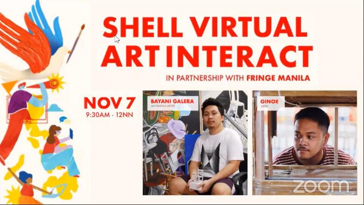 SHELL'S 3RD VIRTUAL ART INTERACT