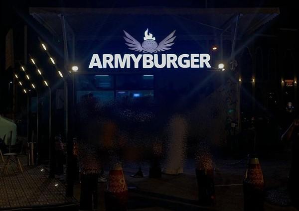 ارمي برجر ARMY BURGER الخبر | المنيو واوقات العمل