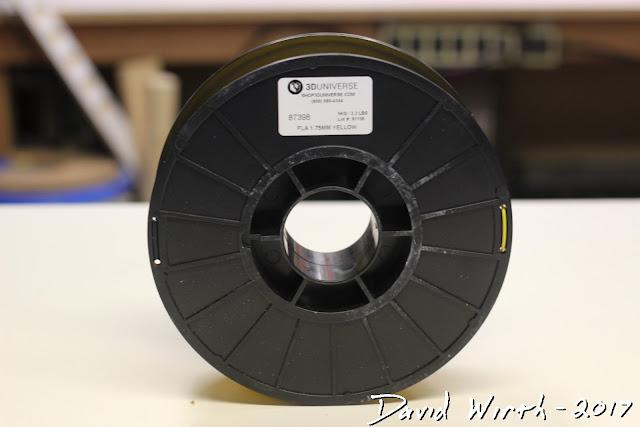 3d universe PLA filament