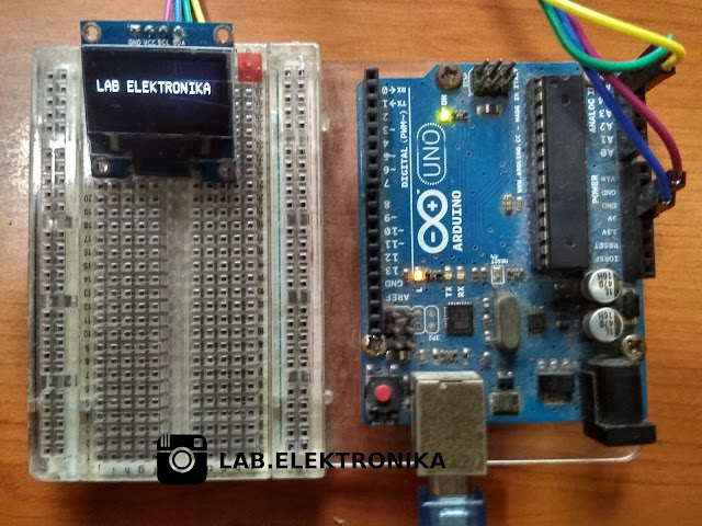 Oled 0.96 Dngan Arduino