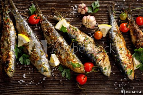 تعرفى على طريقة شيش السمك المشوي اللذيذ والمميز
