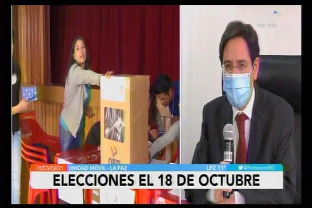 El TSE aplaza la elección general hasta el 18 de octubre