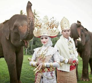 Foto wedding di bandar lampung
