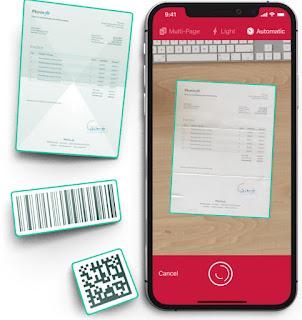 apliaksi scan Document Scanner SDK App – Scanbot