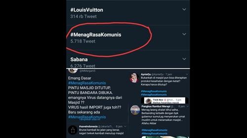 'Menag Rasa Komunis' Trending, Netizen Protes Penutupan Masjid Selama PPKM Darurat