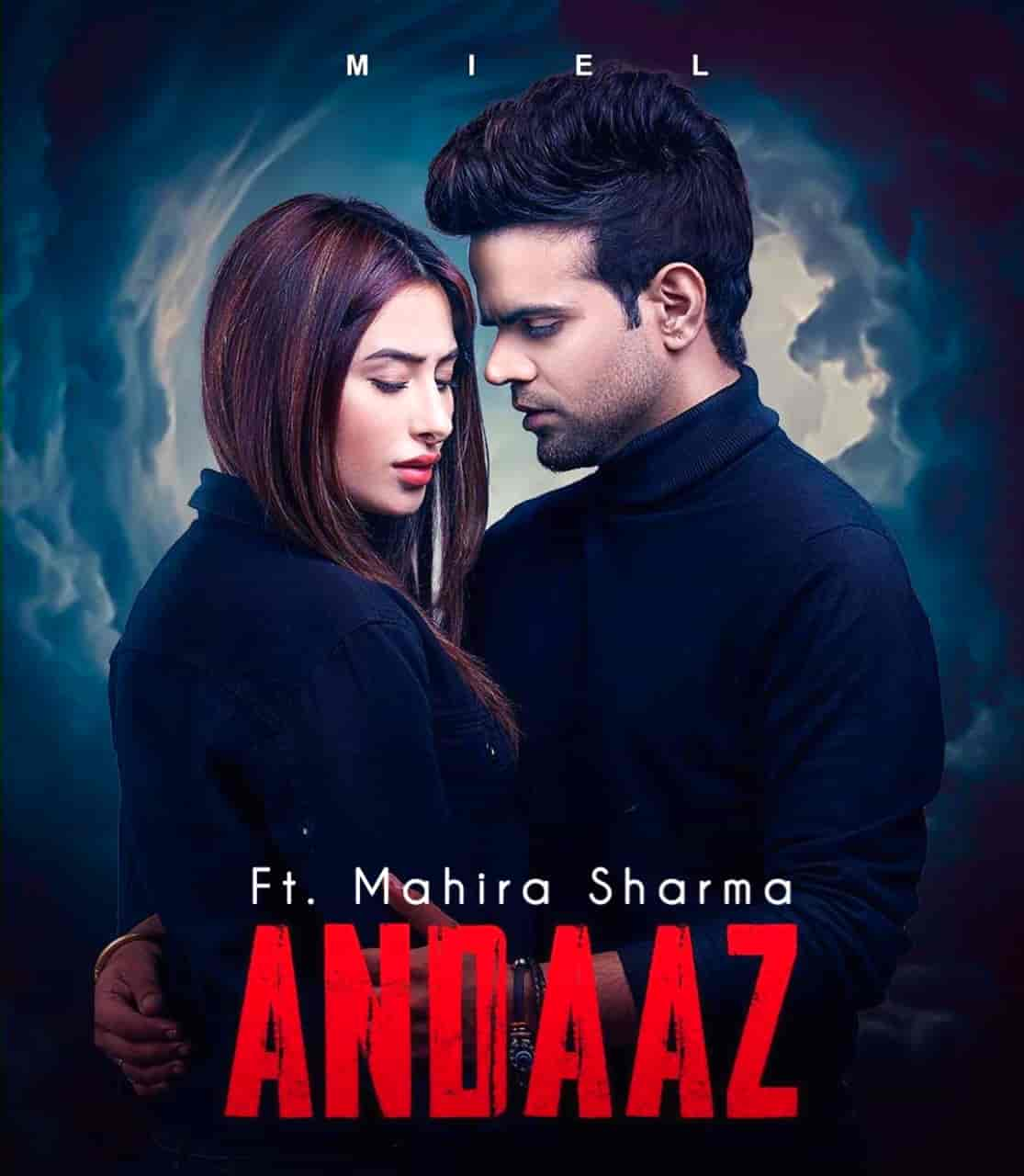 Andaaz Puniabi Song Image Features Miel and Mahira Sharma