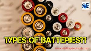Different Types Of Batteries, Advantages, Disadvantages, Applications