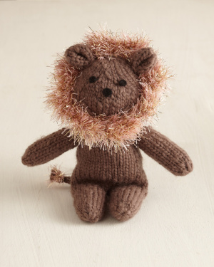 Knitting Pattern For A Toy Lion : Miss Julias Patterns: Free Patterns - 65 Toys to Knit & Crochet