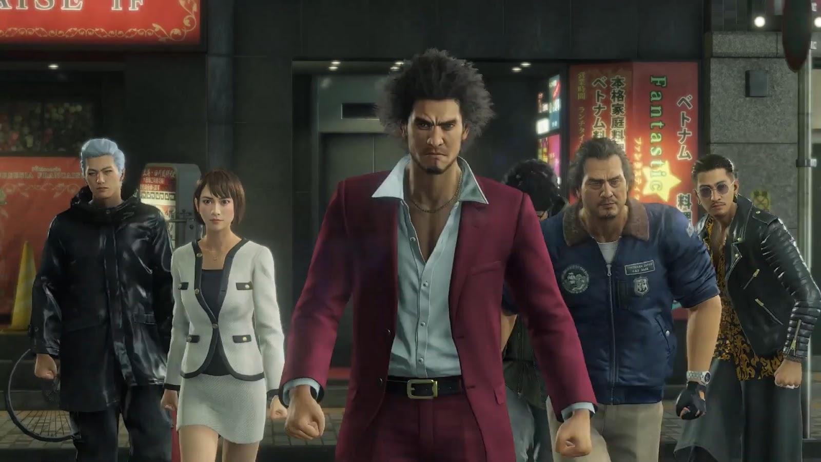 Yakuza: Like a Dragon (PS4) recebe trailer de gameplay e informações sobre  novos personagens - GameBlast