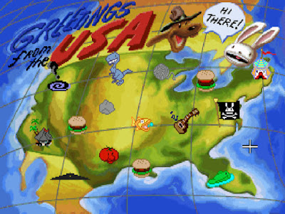 Pantallazo videojuego Sam and Max Hit the Road