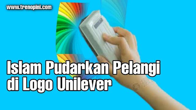 Islam Pudarkan Pelangi di Logo Unilever