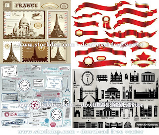 Passport London pari vector free