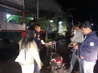 Antisipasi Kejahatan Malam, Sat Reskrim Polres Lampung Barat Melakukan Patroli Rutin