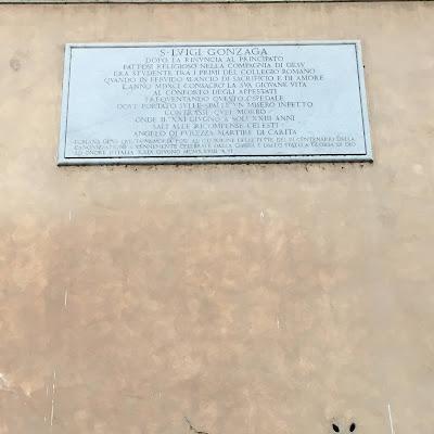 San Luigi Gonzaga Ospedale Consolazione