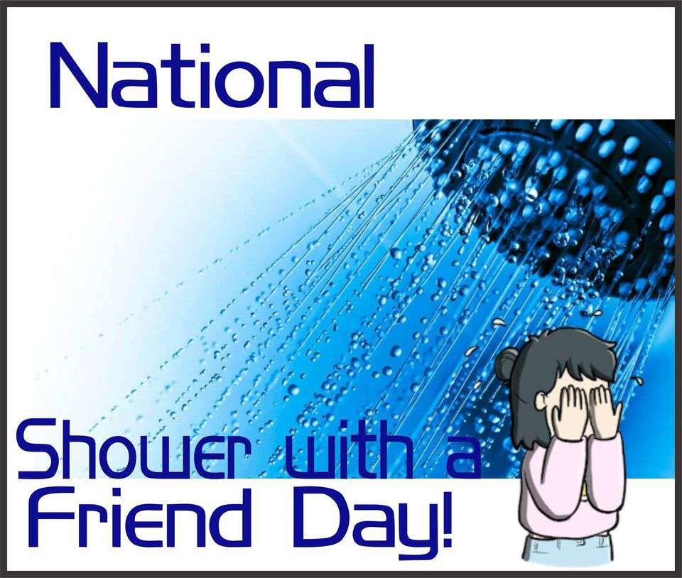 National Shower with a Friend Day Wishes pics free download
