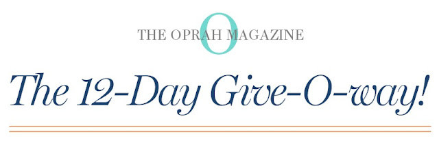 Oprah's 12-Day Give-O-Way Sweepstakes