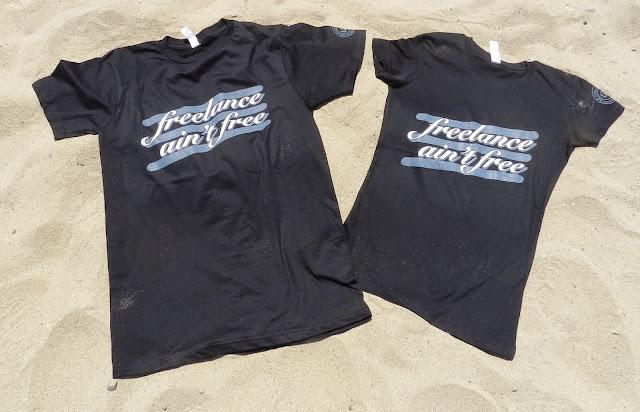 Spreadthewordwear Men's/Unisex and Women's 'freelance ain't free' shirts