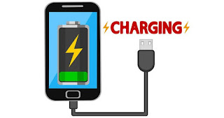 Android charging while pressing