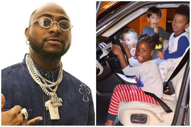 Davido gifts his daughter, Imade a Range Rover as an early birthday present (video)