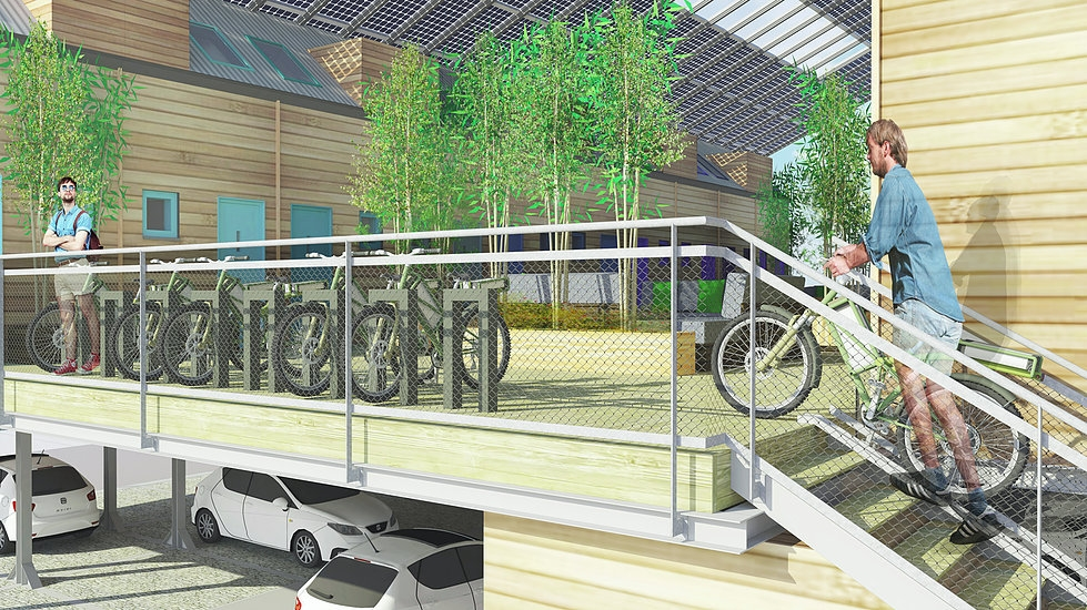 03-E-bike-parking-space-ZED-Factory-ZEDpod-Architecture-Buildings-Dual-Use-Land-Construction-www-designstack-co