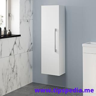 long bathroom wall cabinet