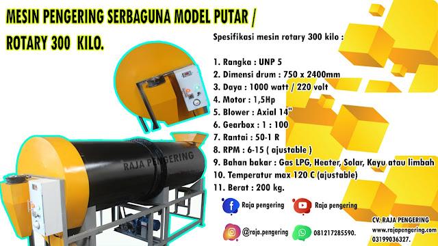 rotary dryer, rotary jagung, rotary gabah