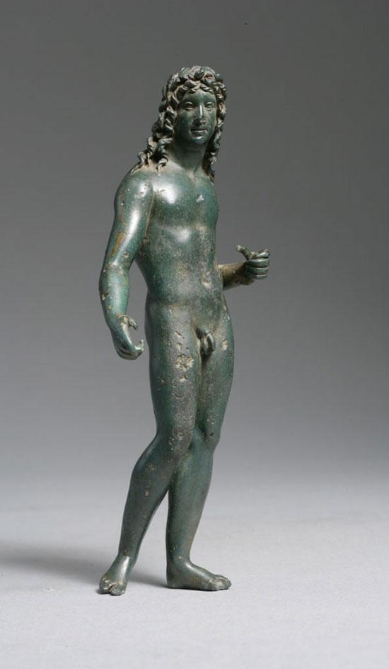 Άγαλμα του Μιθριδάτη ΣΤ Ευπάτορα, ο τελευταίος βασιλιάς του ελληνιστικού βασιλείου του Πόντου, Ανατράπηκε μετά από ανεπιτυχείς πολέμους με τους Ρωμαίους και ταυτοποιείται ως ο διάδοχος του Μεγάλου Αλεξάνδρου (πρόσωπο) και τη μετενσάρκωση του θεούς Ηρακλή (σώμα) και του Διονύσου ( μαλλιά). - Βόρεια Μ Ασία Ελληνιστικό. 120- 63 πΧ.-Αυτό το χάλκινο υπολογίζεται ότι είναι των αρχών του 1ου π.Χ. αιώνα και λέγεται ότι απεικονίζει τον Μιθριδάτη ΣΤ ...ο οίκος Κρίστις (Lot 157) στις Σημειώσεις εξηγήσει γιατί αυτό είναι ένα πορτρέτο του Μιθριδάτη του 6ου ...