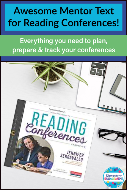 A Teacher's Guide to Reading Conferences is an excellent mentor text to guide teachers through the process of independent reading conferences.  It includes steps and strategies for planning, preparing, conducting and tracking conferences.