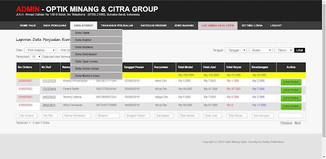 Download Gratis UPDATE - Aplikasi Manajemen Penjualan Optik V.3 (Point Of Sale)