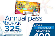 Dufan Promo Annual Pass Gratis Setahun Masuk Dufan Hanya 325 K Hingga 31 Maret 2020