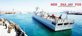 Kapal Perang Negara Turki HEY Kirim Signal Terbaca PRAY FOR KRI NANGGALA