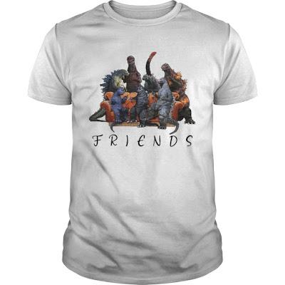 Godzilla Company Friends T Shirt Hoodie Sweatshirt Tank Top. GET IT HERE