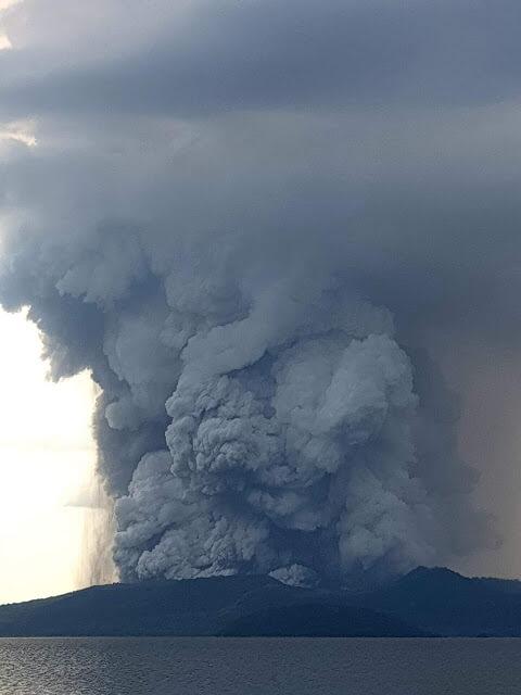"""انفجار بركان """"تال"""" في الفلبين"""
