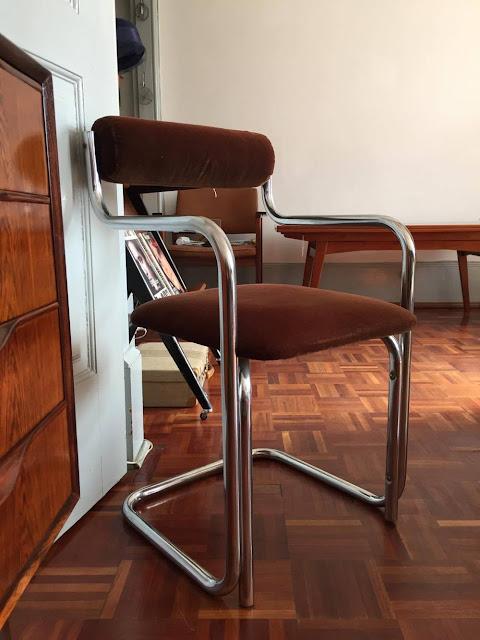 cadeira, vintage, anos 70, a Porta Verde, loja vintage