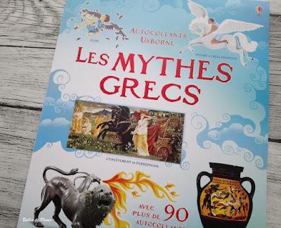 Bulles de Plume - Le Corps Humain - Les Mythes Grecs (Documentaires Autocollants Usborne)