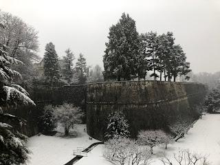Winter on Baluardo di Sant'Agostino.