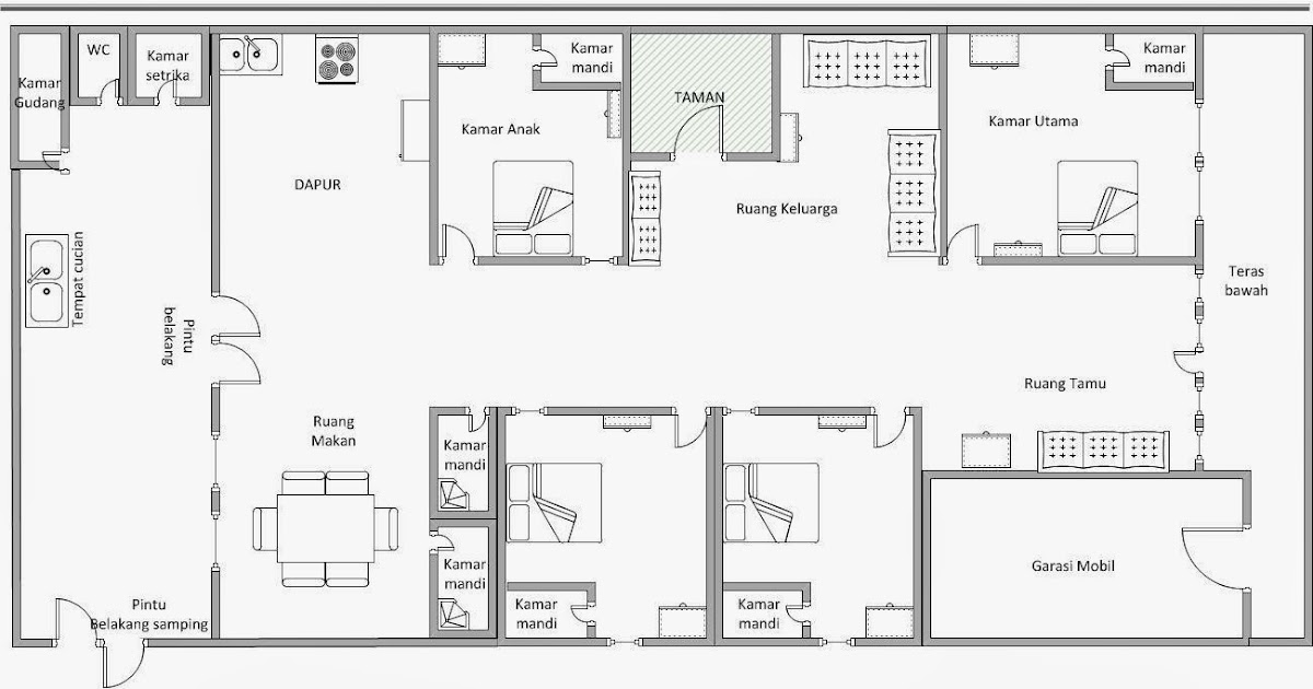 """Visio Floor Plan Beautiful Microsoft Visio Floor Plan And: Say """"Hello"""": Home Plan: Map And Floor Plan Dengan"""