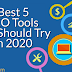 Best seo tools you should try in 2020