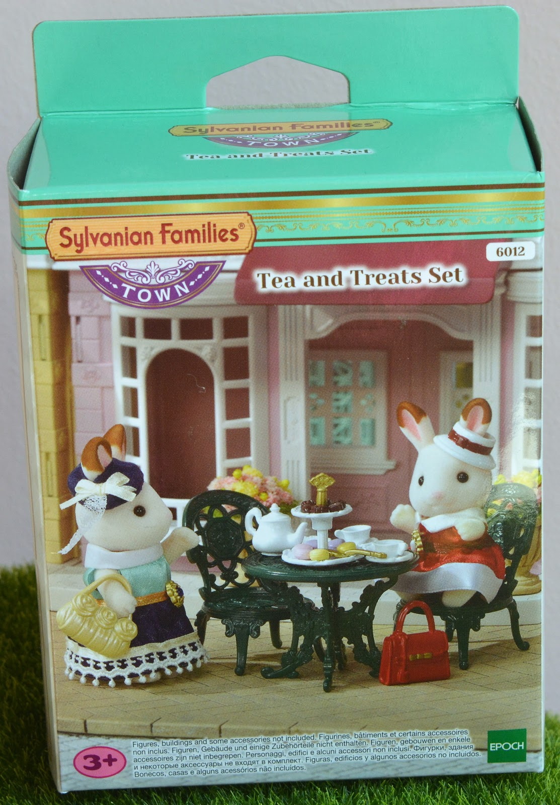 My Sylvanian Paradise Sf Tea And Treats Set And Light Up