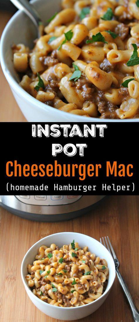 Best Instant Pot Cheeseburger Mac