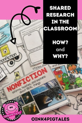 Shared research may seem a bit daunting, but this post explains it step by step. Your students will love it.
