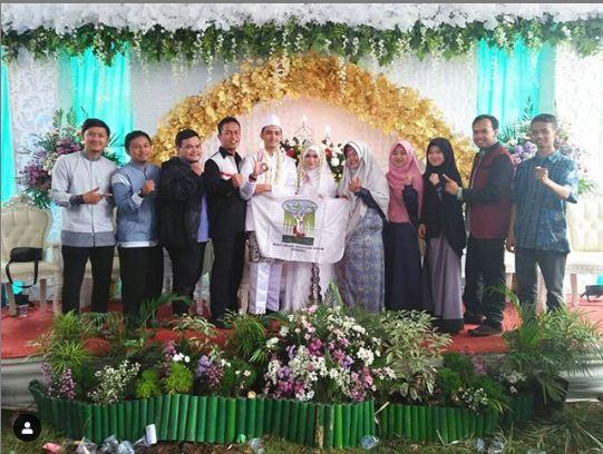 Momen Pernikahan Sekjen Kammi Kuningan
