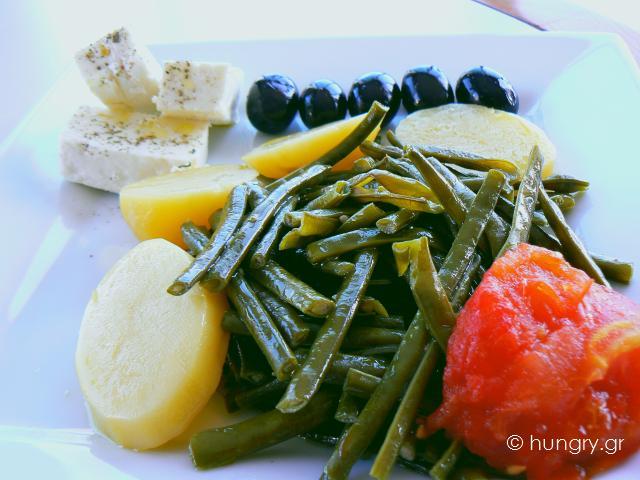 Φρέσκα Πράσινα Φασολάκια Σαλάτα