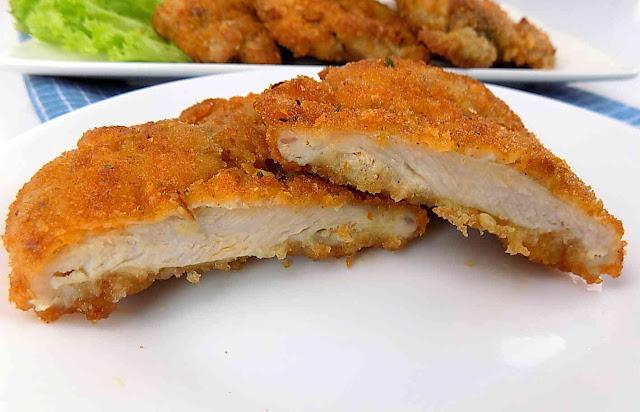 Kotlety z udka kurczaka w chrupiącej panierce