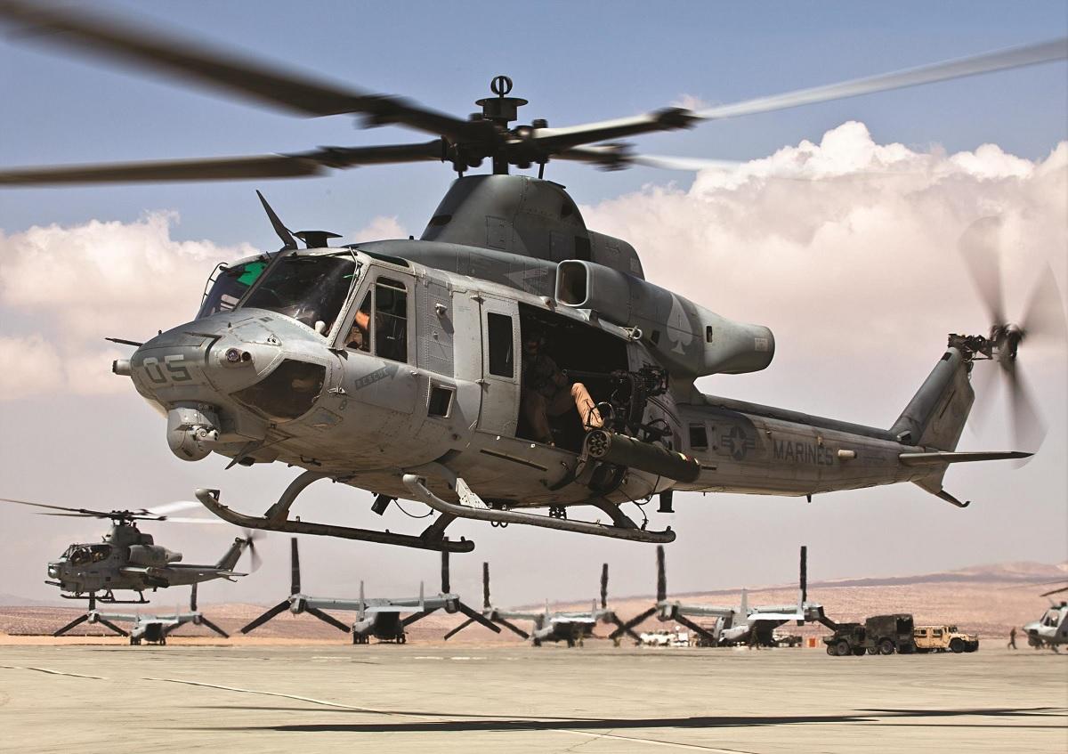 Bell розпочинає виробництво UH-1Y для Чехії