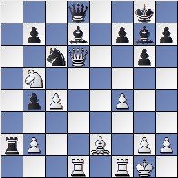 Partida de ajedrez Joaquim Travesset vs. Pedro Cherta después de 20.Dxd6