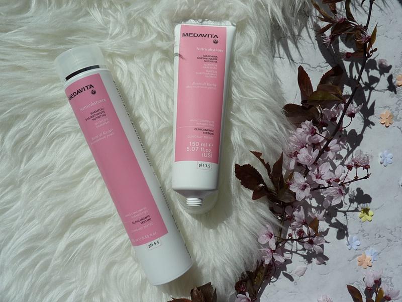 MEDAVITA Nutrisbstance pielęgnacja włosów suchych