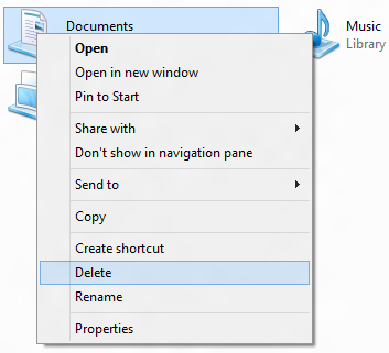 Documents.library-ms Is No Longer Working Problem In Windows 8
