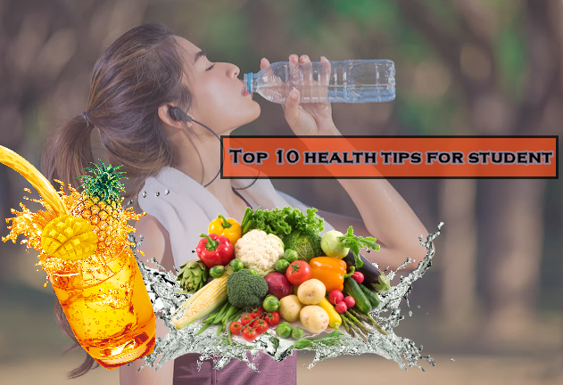 simple health tips for for students